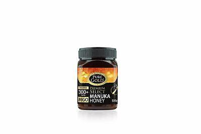 Pure Gold Premium Select Manuka Honey 300+ - 500g