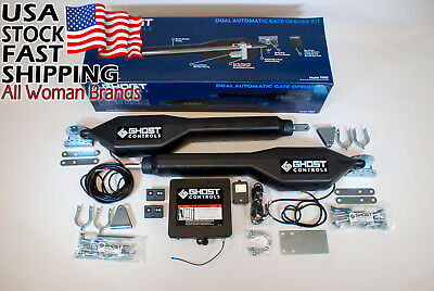 Ghost Controls TDS2 Heavy-Duty Dual Automatic Gate Opener Kit for Swing...