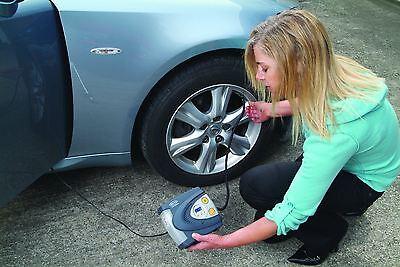 Car Parts - Ring RAC630 12v Digital Air Compressor Wheel Tyre Inflator Pump PSI & BAR + Case