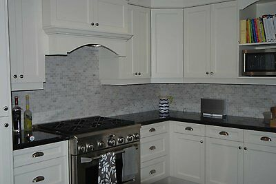 "Countertop Granite Peel and Stick Film Black Why paint? 36"" x  72"""