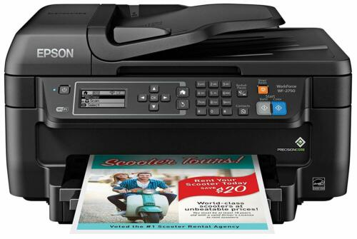 Epson WorkForce WF-2750 Wireless All-In-One Printer C11CF76201