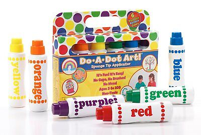 Do a Dot Art! Rainbow 6 Pack Washable Dot Markers ()