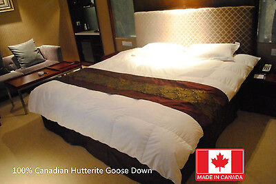 Best Canadian Goose Hutterite Down Duvet Comforters 850Fill Power Made In