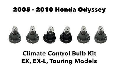 Genuine OEM Honda 05-10 Odyssey Heater A/C Climate Control Light Bulb Kit Bulbs