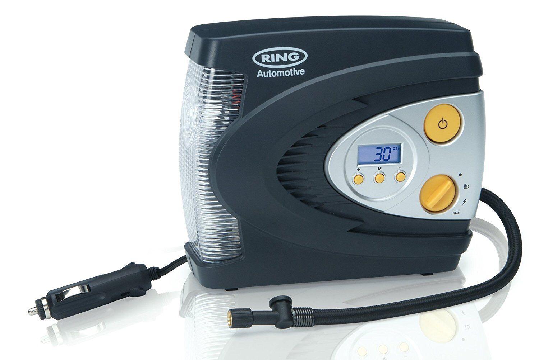 Ring Rac630 12v Digital Air Compressor Wheel Tyre Inflator Pump Psi & Bar