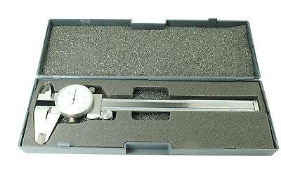 Proops Metric Dial Caliper Vernier Micrometer 150mm 15cm Stainless D8010