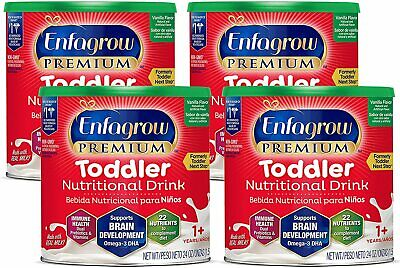 Enfagrow Toddler Next Step Milk Drink Powder, Vanilla 24 oz Can (4 PK)EXP03/21
