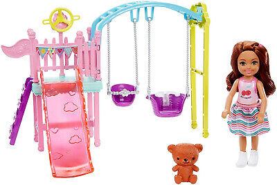 Barbie Club Chelsea Swingset Playset Kid Toy Gift