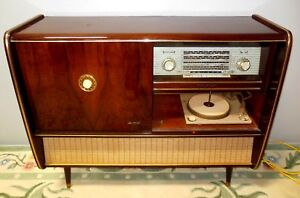 VINTAGE KUBA SW LW HI FI FLOOR MODEL STEREO GERMAN MADE