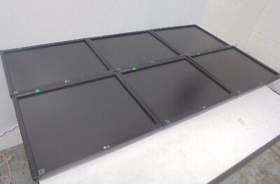 "JOB LOT 6 X LG Flatron E1910 19"" Monitor Screens - 4:3 DVI VGA - Without Stands"