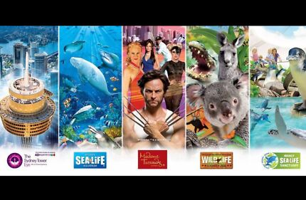 SEA LIFE Aquarium ,  WILD LIFE  Zoo, Madame Tussauds,   Tower EYE