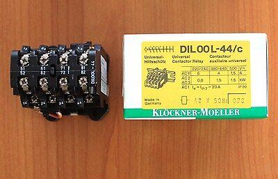 unused//OVP Klöckner Möller DIL08-40 240V 50Hz Schütz Universal Contactor Relay