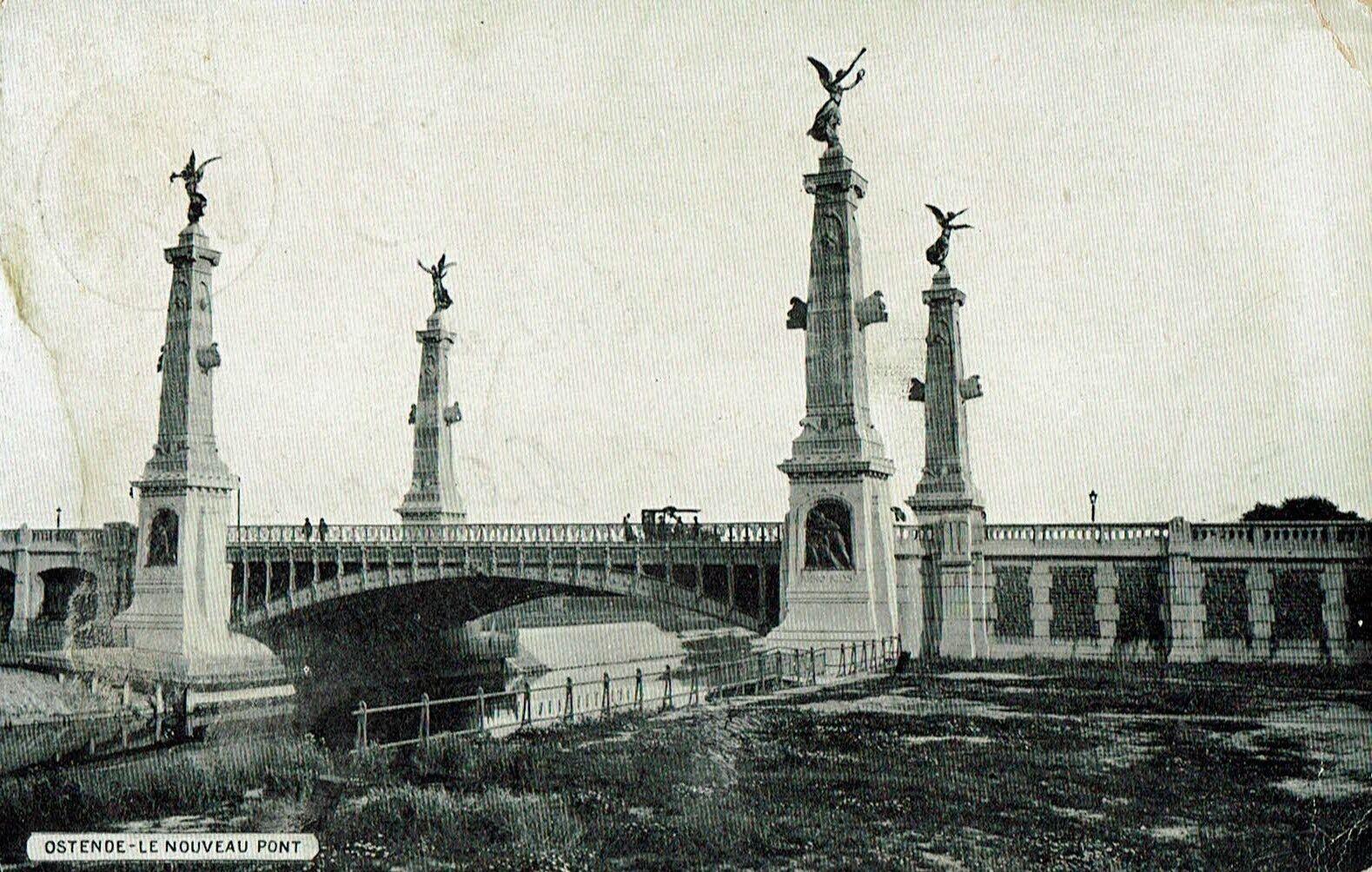 Oostende Ostende Le nouveau pont (animée)