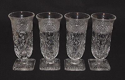 """SET OF FOUR Perfect Vintage Imperial """"CAPE COD"""" Parfait Goblets - 8 Sets Avail!!"""