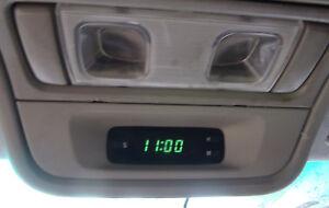 1998-2002 Subaru Forester Dash Clock 02-05 Impreza WRX Saab 9.2x SF GD Overhead