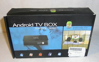New Android 4.2 Dual Core MX TV Box XBMC Media Player Network Streamer 1080P HD for sale  Moss Point