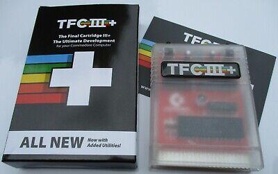 Commodore 64 - The Final Cartridge III+, TFC III+ Cased Cartridge