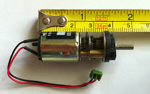 12 Volt Dc Geared Hobby Motor 200 Rpm Project Motor