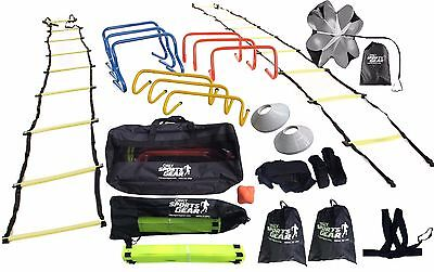 OSG Ultimate Multi Sports Fitness Training Equipment Speed & Agility Kit Set SNR