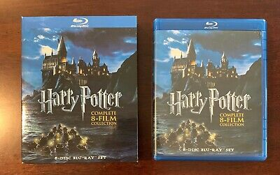 Harry Potter Complete 8-Film Collection Blu-ray - Very Nice