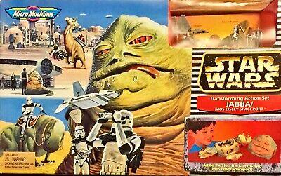 Star Wars Micro Machines Jabba Mos Eisley Spaceport Transforming Action Set NEW