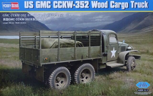 HOBBYBOSS® 83832 US GMC CCKW-352 Wood Cargo Truck in 1:35