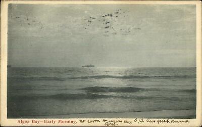 Port Elizabeth Cancel - Algoa Bay Early Morning 1904 Used Postcard
