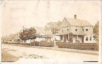 1911 Rppc Homes Residential Street Roosevelt   Li Ny