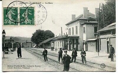 CPA - Carte Postale - France - Audun le Roman - La Gare - 1910 ( I10755)