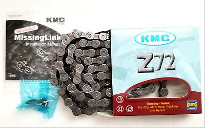 KMC Z72 18-21-24 Speed Chain 1/2