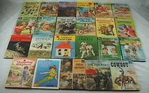 Collection of 23 Vintage Ladybird Childrens Books Reading Key Words Retro