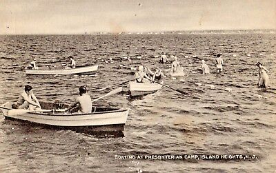 Row Boats at Presbyterian Camp in Island Heights NJ OLD