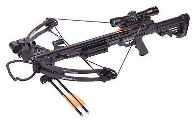 NEW Crosman CenterPoint Sniper 370 Black Crossbow Package- AXCS185BK