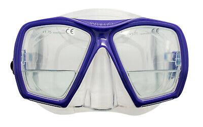 Genesis Panview 4 Lens Mask Scuba Diving Snorkeling Mask Yellow CLOSEOUT