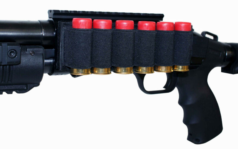 Shell holder for maverick 88 hunting accessories black 6 round adapter 12 gauge
