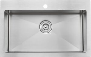 "Handmade drop-in single/double bowl sink 30""x20""x10"" from $259!!"