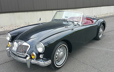 MG: MGA Roadster 1959 mga roadster runs and drives great