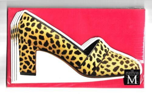 The Metropolitan Museum of Arts Leopard Pump Die Cuts Vintage Cards/Envelopes