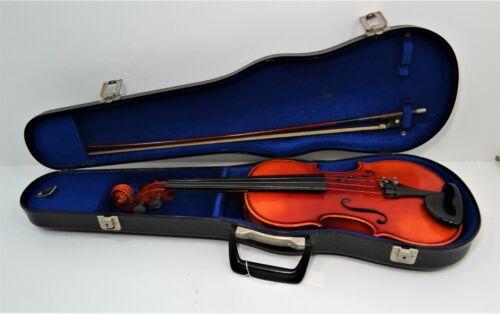 German Copy of Antonius Stradivarius Faciebat Cremona 1713 Violin, Cased