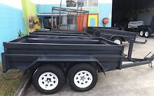 ALL NEW AUSSIE MADE 10X5 HEAVY DUTY TANDEM TRAILER NEW TYRES Brisbane South East Preview