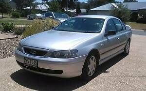 2004 Ford Falcon Sedan Dual Fuel Albury Albury Area Preview
