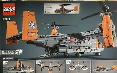 Lego 42113 Bell Boeing V-22 Osprey - Brand new - Technic -Pickup Or Post– Rare
