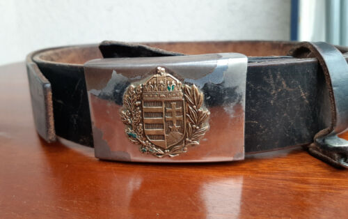 WWII Hungarian Army Military Dress Parade Belt