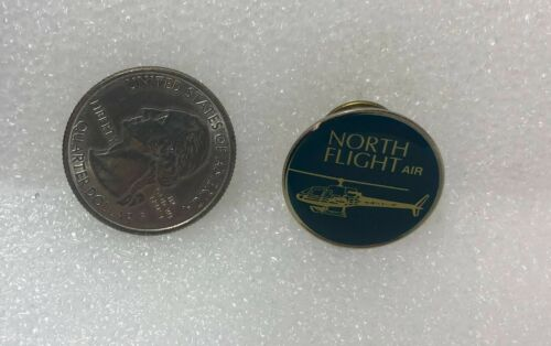 North Flight Air Helicopter Pin