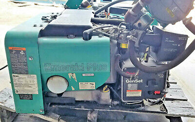 Onan 6.5 Kw Emerald Plus 6500 115v 1ph N.gasgasolinepropane Electric Generator