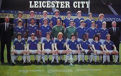LEICESTER CITY FOOTBALL TEAM PHOTO 1980-81 SEASON