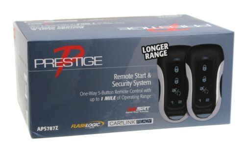 Prestige Remote Start & Security Alarm System with Two 5-Button Remote