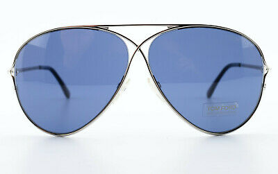 TOM FORD Sonnenbrille Peter TF142 18V 59[]10 135 Aviator Sunglasses Italy c2009