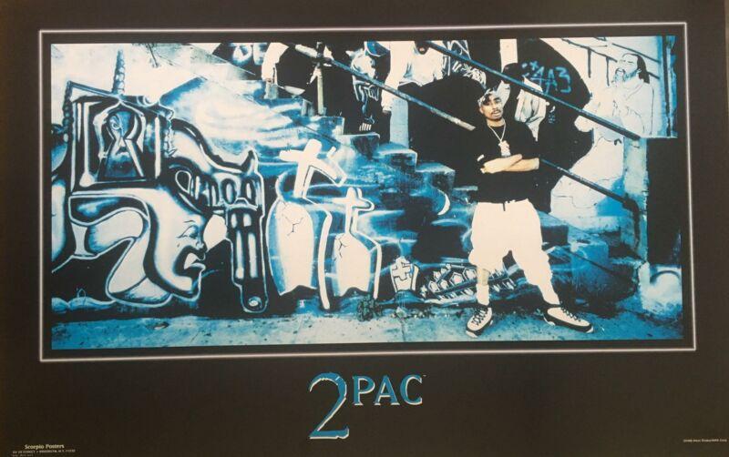 Tupac Shakur 1992 Original Poster 22.5 x 34.5