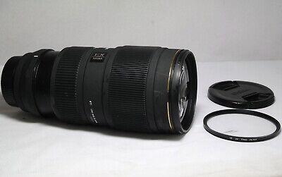 Sigma EX 70-200mm f/2.8 II APO HSM DG Lens for Nikon full frame
